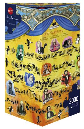 Puzzle CAT SYMPHONY 2000 pieces