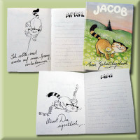 Product image for:Jacob Birthday-Booklet