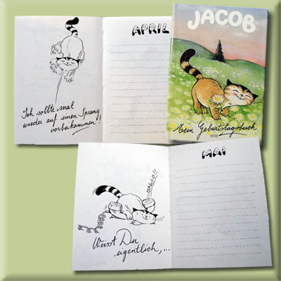 Jacob Birthday-Booklet
