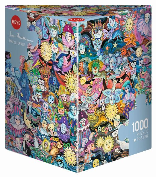Puzzle Jacob - Masquerade 1000 Pieces